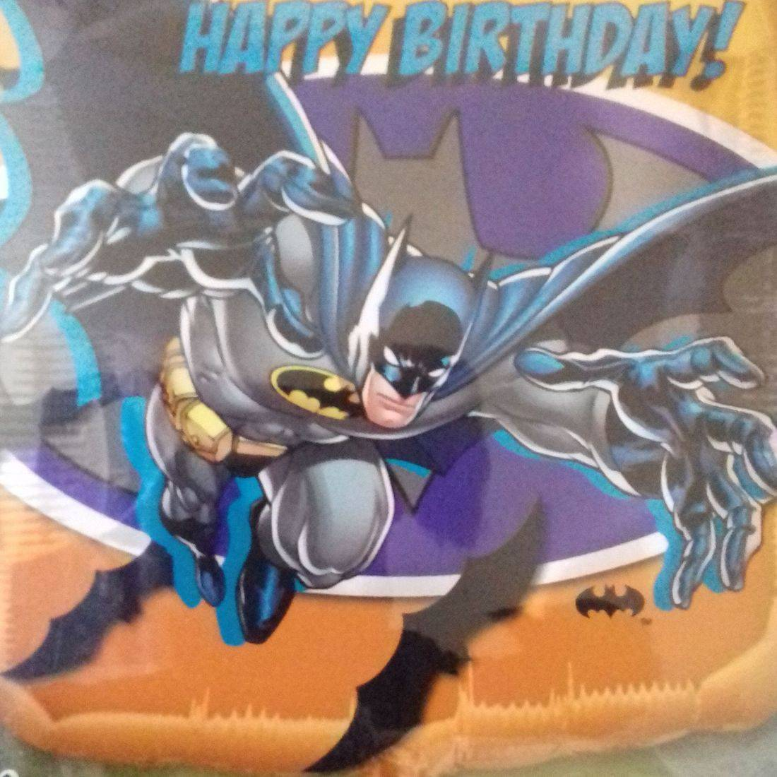 HAPPY BIRTHDAY BATMAN