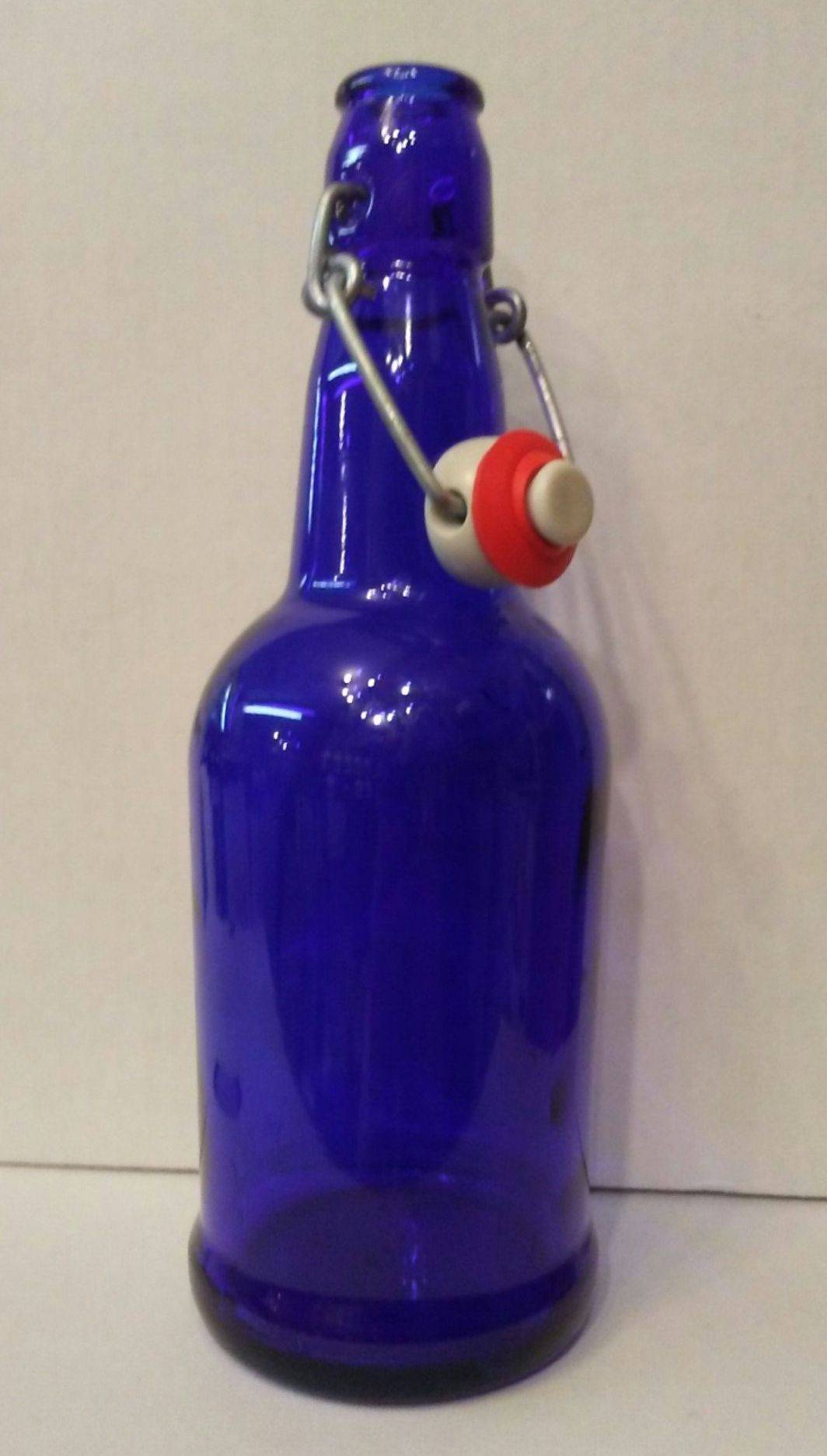 16 oz. Grolsch Bottle Blue