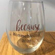 locally made wine glasses, funny wine glasses
