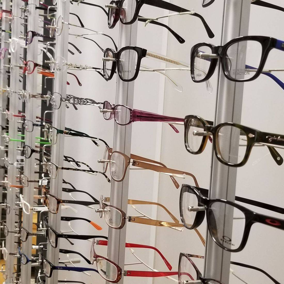 Hundreds Of Designer Eyeglass Frames