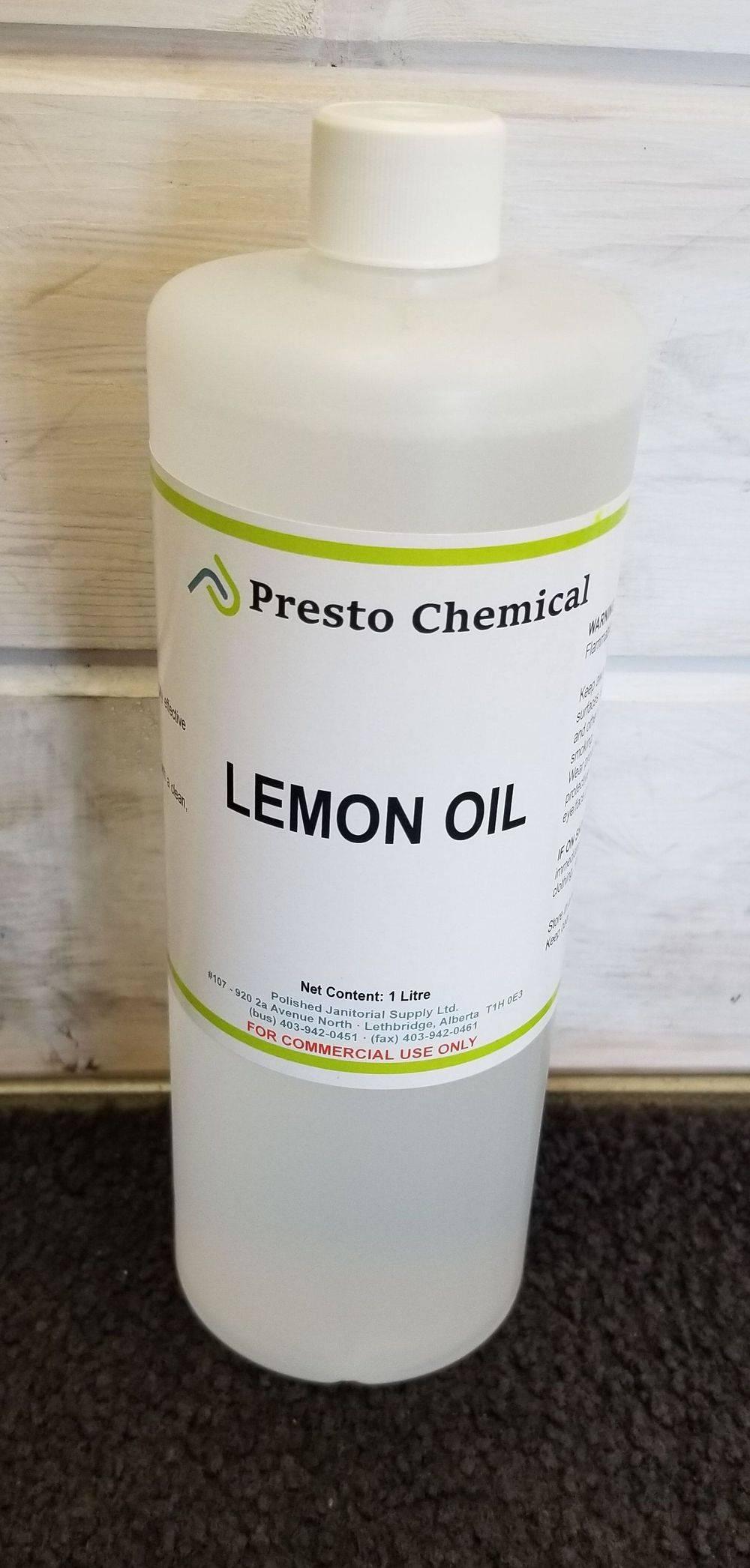 Lemon Oil Furniture Dilemonene