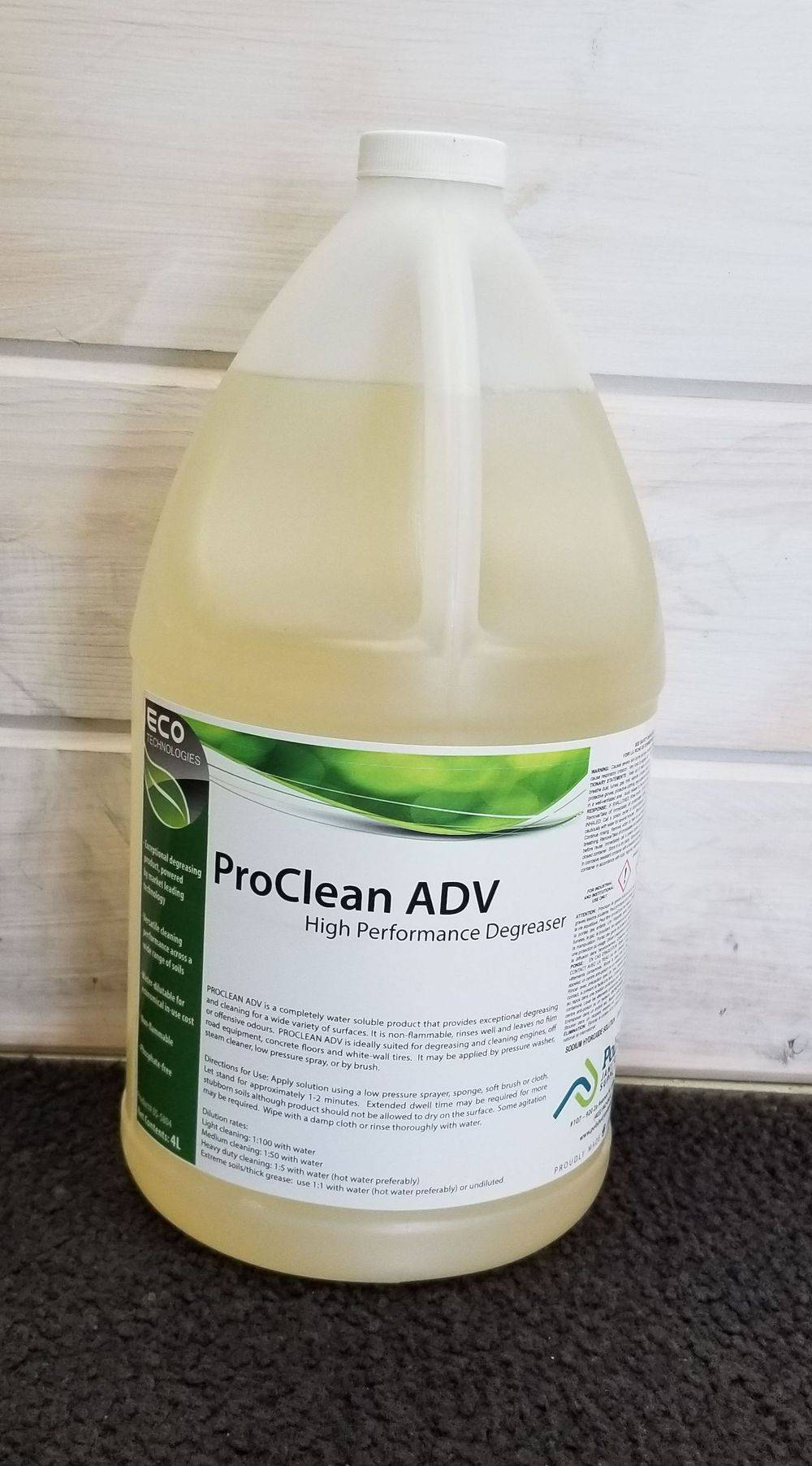 ProClean ADV Multi Surface Cleaner Degreaser Biodegradable 4L