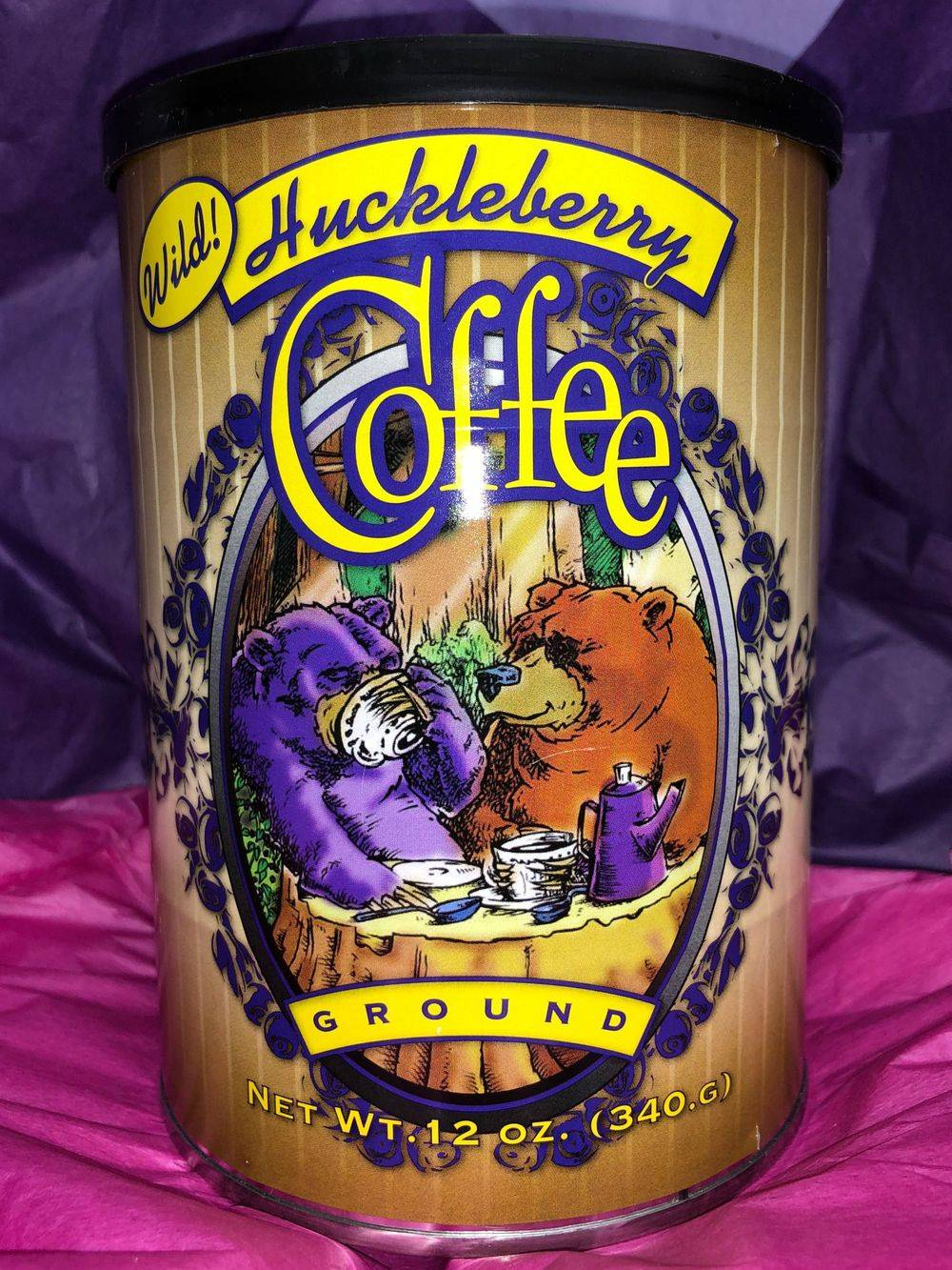 Montana Huckleberry Coffee