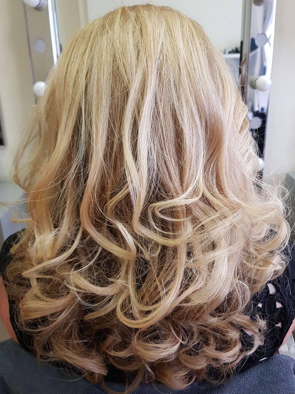 Temple Holborn Strand London Hairdressers hair salon Blow dry