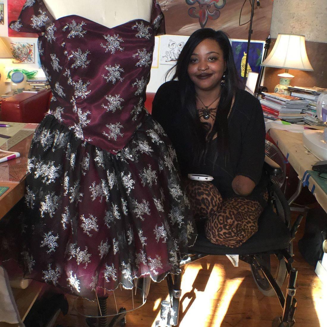 #punkybabe2010 #sewingforlife #cadelecreations