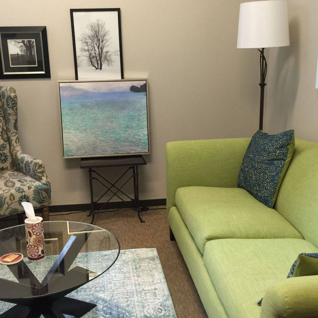 Quiet setting with affirming informed experienced psychotherapist in Houston.