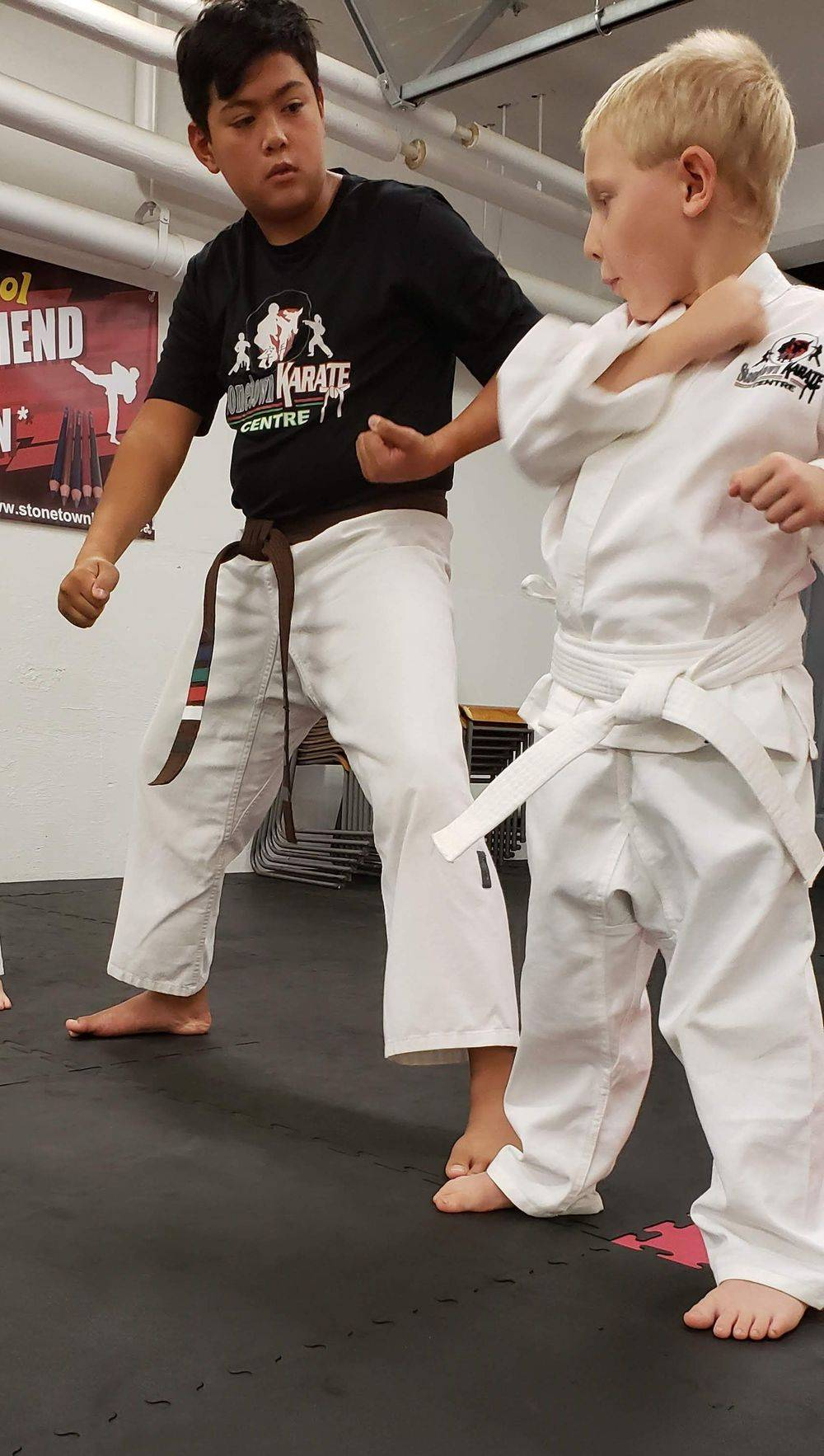 Karate brings focus and structure to children