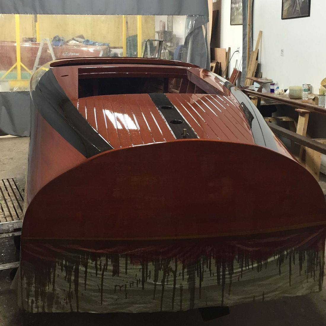 Chris craft barrelback