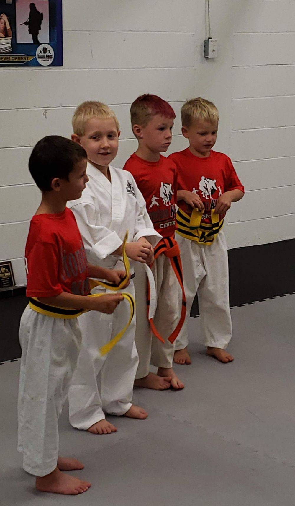 Karate Classes for 4 Year old children at 29 Wellington St. South St.Marys Ontario