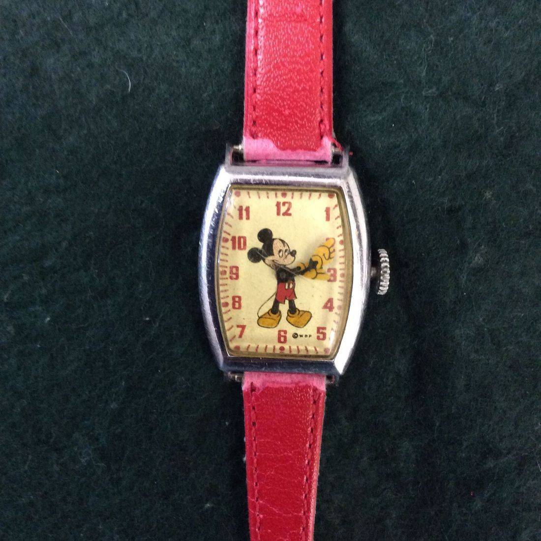 C. 1940's/50's WDP Mickey Mouse #4740 'Working' Wind-up Watch   $65.00
