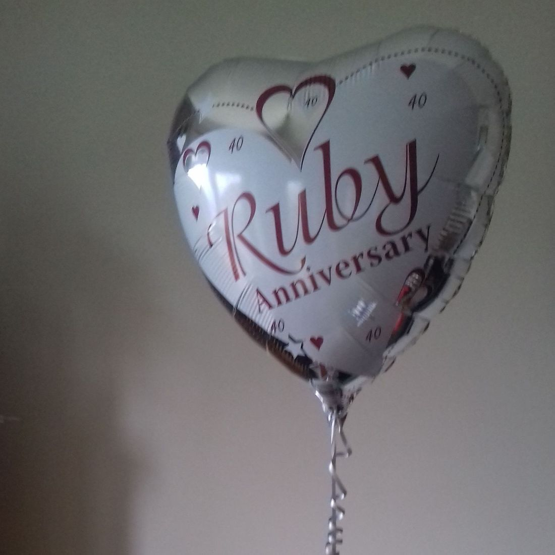 wedding/anniversary balloon base