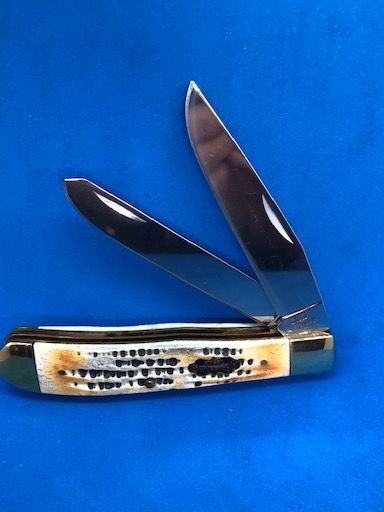 GUNSTOCK BLACK KNIFE , PICK BONE