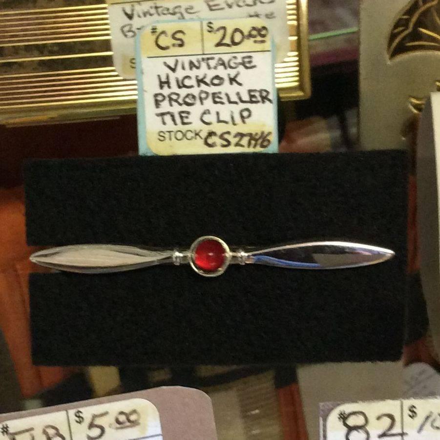 Vintage Hickok Propeller Tie Clip   $20.00