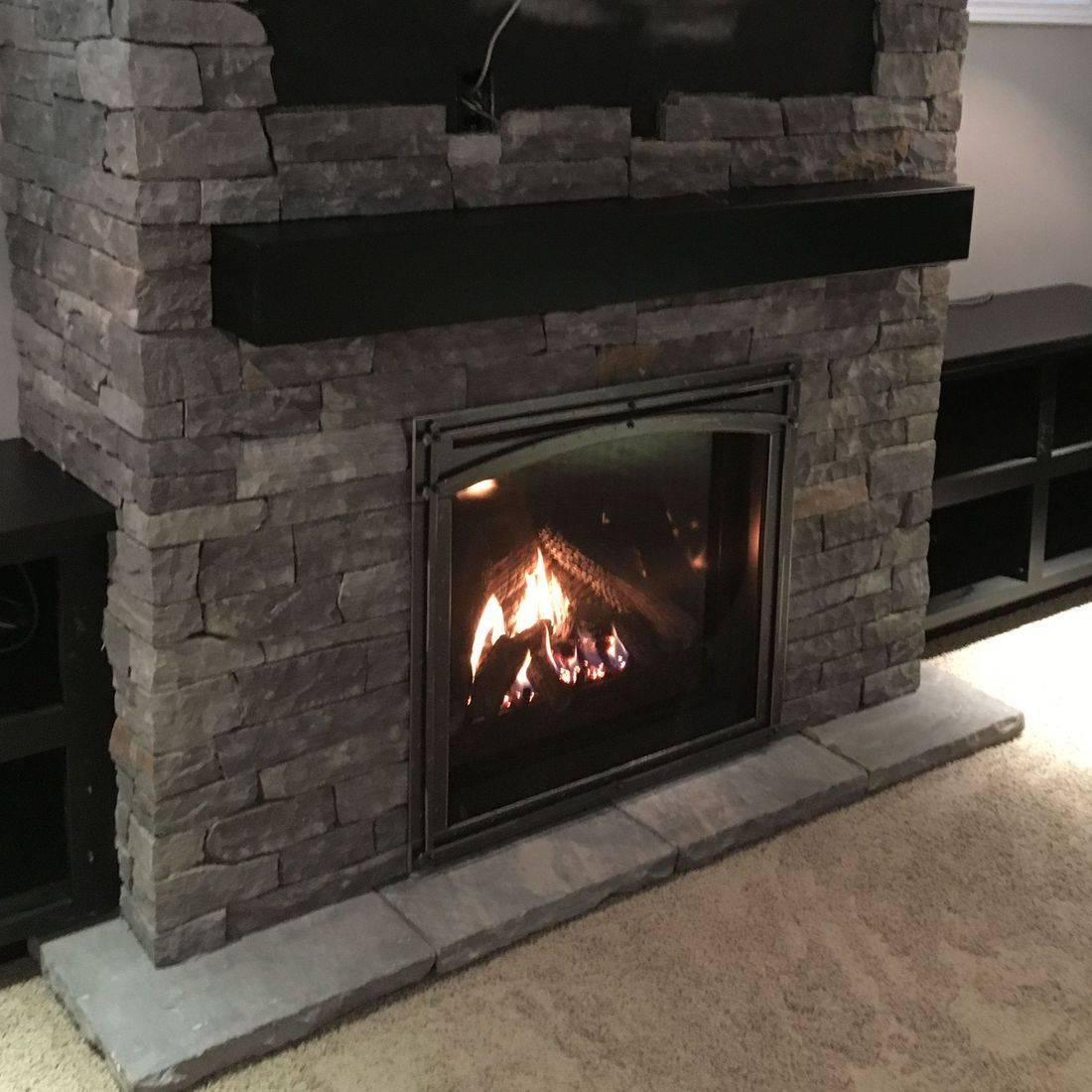 Enviro Q3, Pangea, fireplace, stone, mantle, cabinets