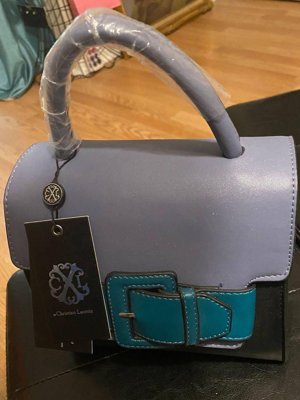Christian Lacroix small color block bag