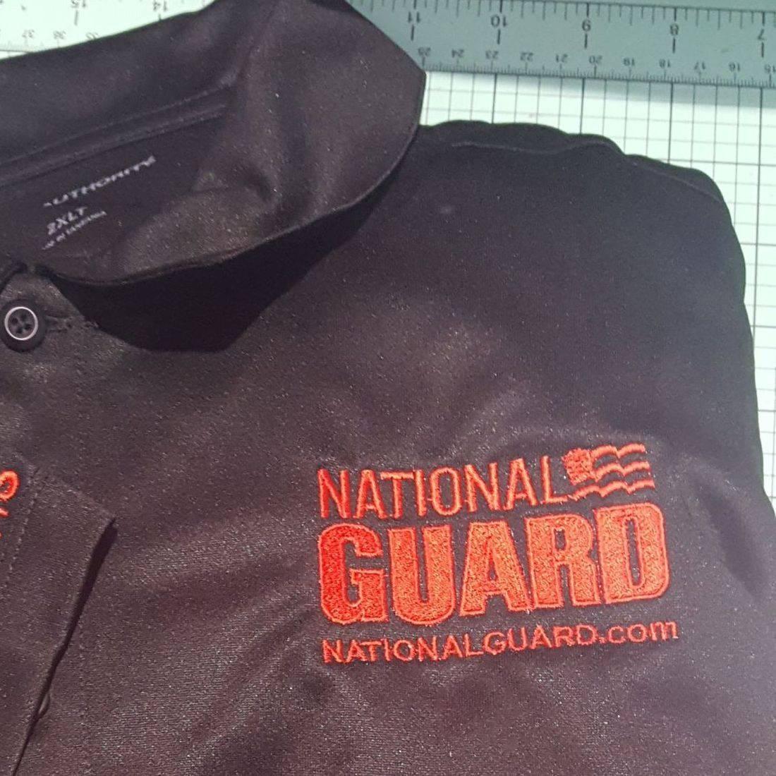National Guard Embroidered Emblem