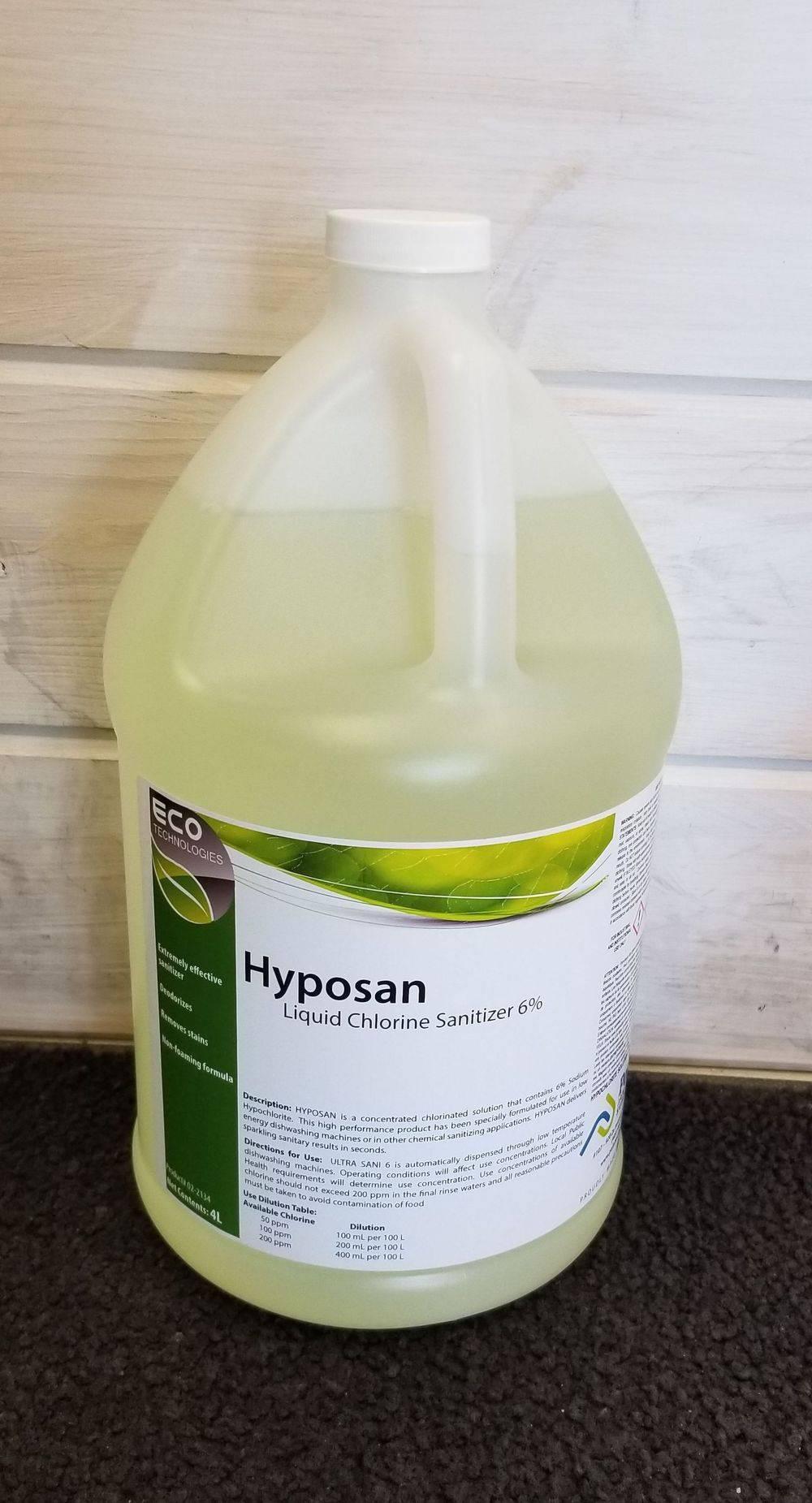 Hyposan 6% Hypochlorite