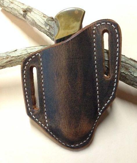 buck 110 sheath , buffalo , german eye brand sheath , buffalo sheath ,