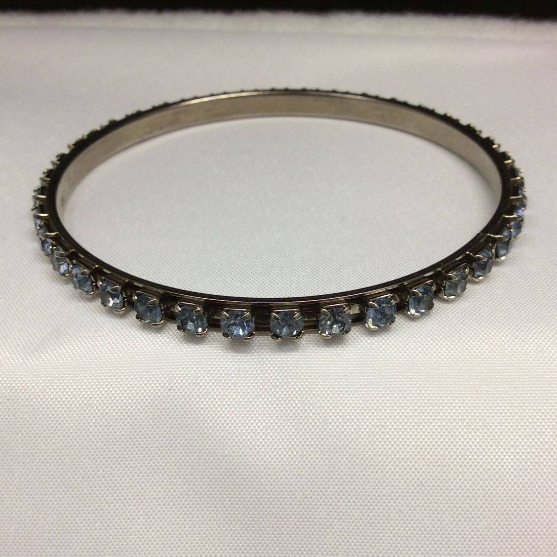 Vintage Blue, Rhinestone Bracelet  $18.00