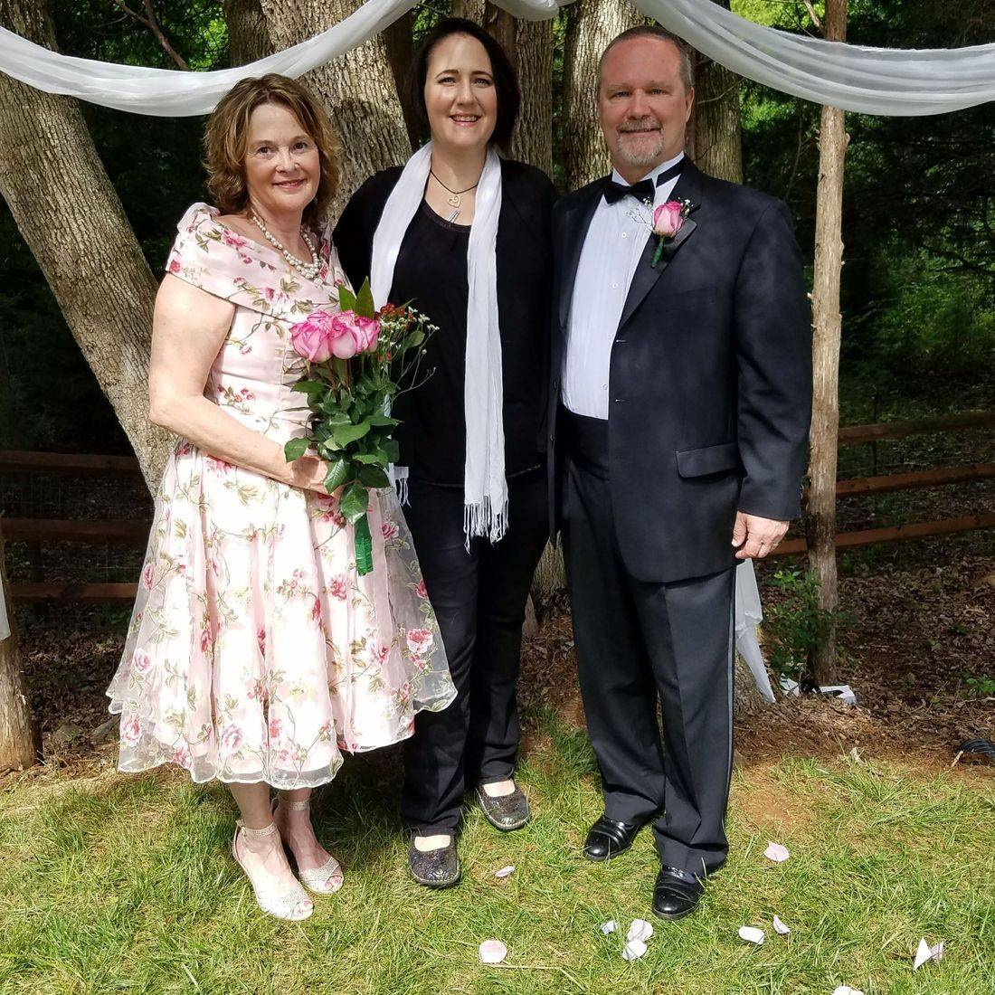 mature, wedding, officiant, marriage