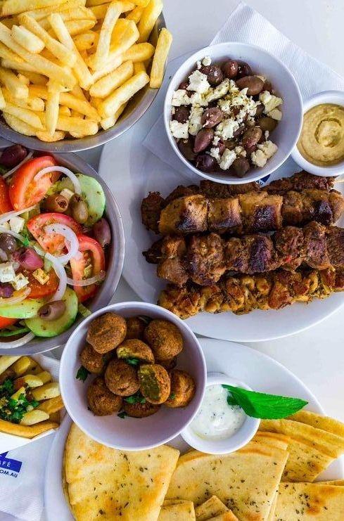 Eat Like a Greek Street food Souvlaki best kebabs in Perth