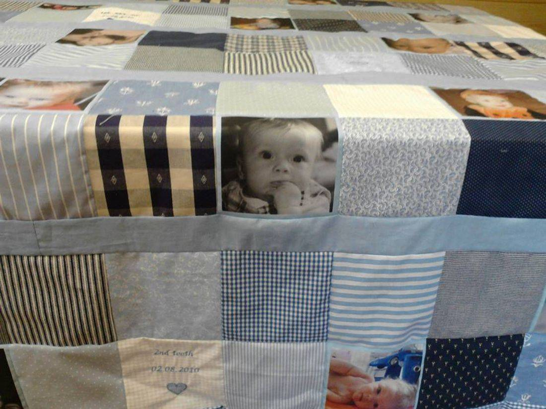 Photo History Quilt
