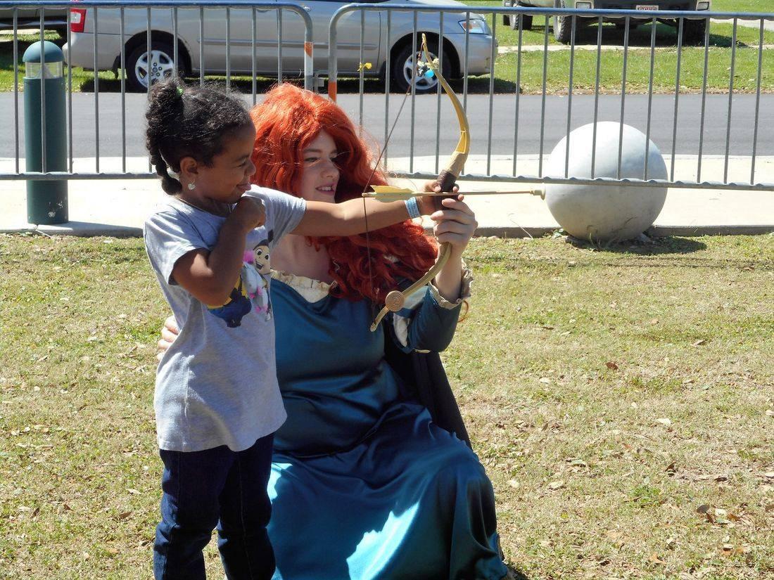 Princess Merida Birthday Party Ideas  Biloxi, MS Birthday Characters Gulfport, ms. Birthday Party Ideas, Ocean Springs, ms.
